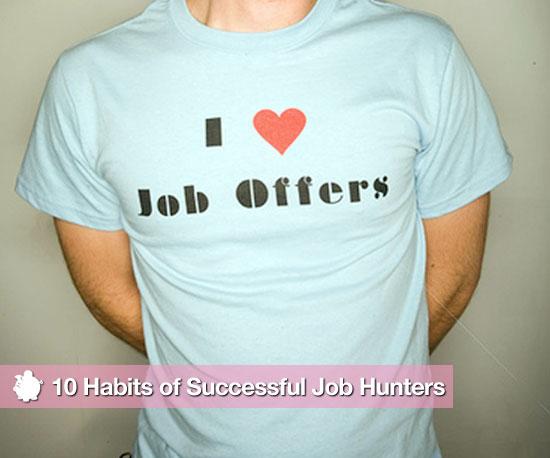 Habits of Successful Job Hunters