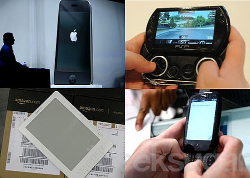 Fresh New Gadgets: The Palm Pre, Kindle DX, PSP Go, and iPhone 3G S