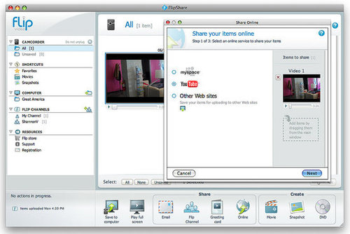 geeksugar Reviews Flip UltraHD Sharing Software