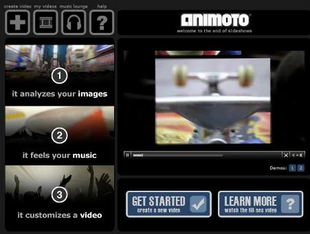 Animoto Makes Exciting Slideshows From Your Photos