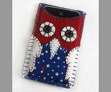 Patriotic Owl iPhone/iPod Case