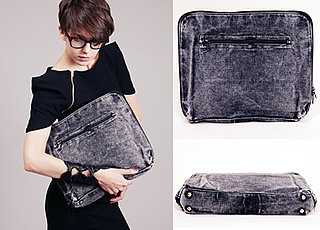 Blond Acid Denim Laptop Sleeve Is Hipper Than Thou