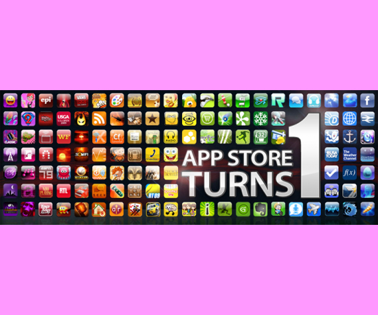 The App Store Celebrates First Birthday