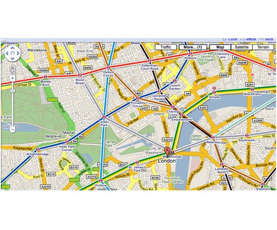 Google Transit Layer