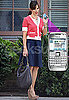 Pics of Jennifer Garner on Set of Valentine's Day With Nokia E71 Cell Phone