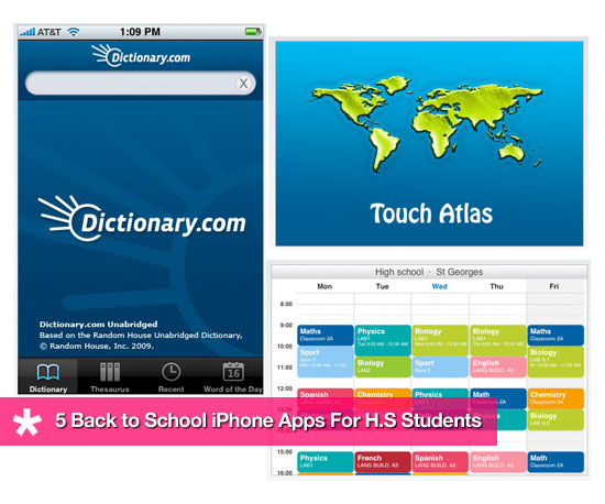 Back to School iPhone Apps For High Schoolers