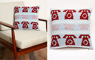 Urban Outfitters Knit Telephone Pillow