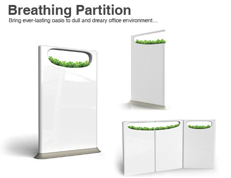 Photos of the Breathing Partition