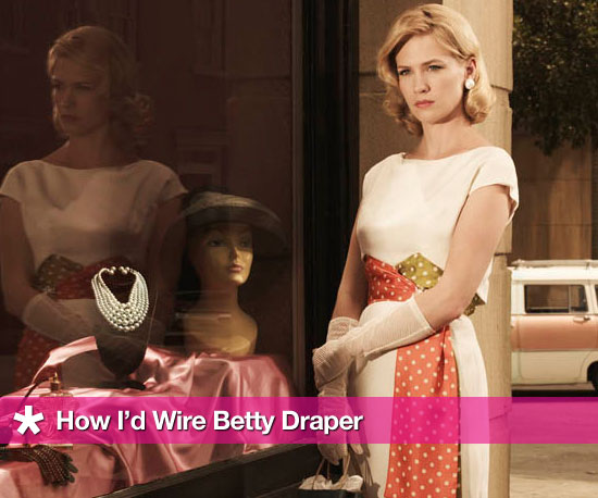 How I&#039;d Wire Betty Draper