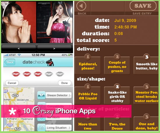 10 Crazy iPhone Apps