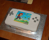 New Super Mario Bros. Nintendo DS Lite Cake