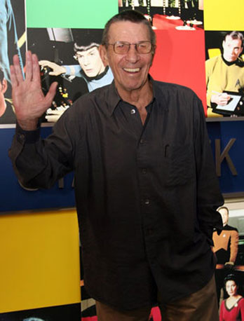 GeekSugar Interviews Leonard Nimoy