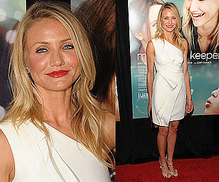 Photo of Cameron Diaz Wearing White J.Mendel Dress at My Sister's Keeper Premiere