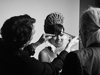 Behind the Scenes Photo of Lily Allen For Chanel Ad Campaign