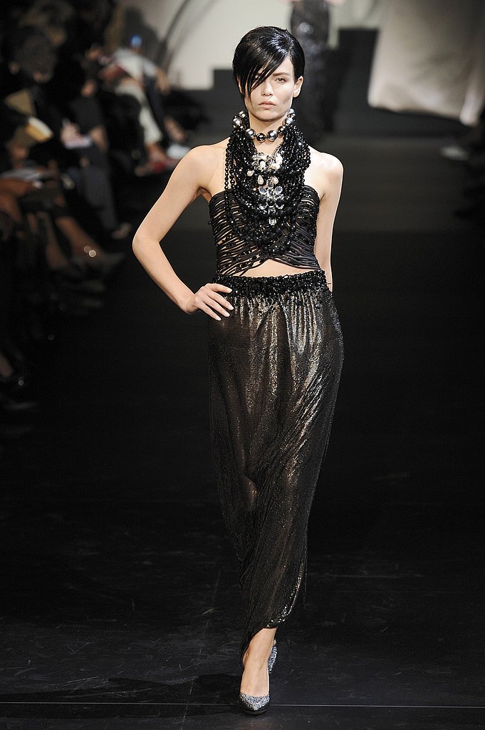 2009 Fall Couture: Giorgio Armani Prive