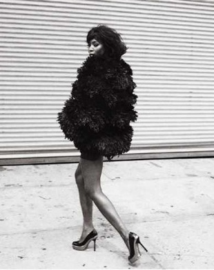 Naomi Campbell To Model in Dennis Basso's Fall 2009 Fur Ad Campaign