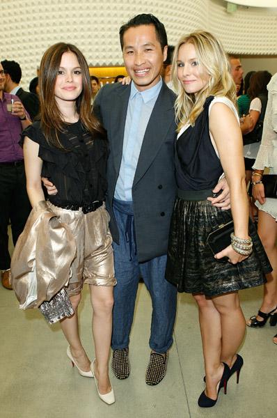 Rachel Bilson, Phillip Lim, Kristen Bell