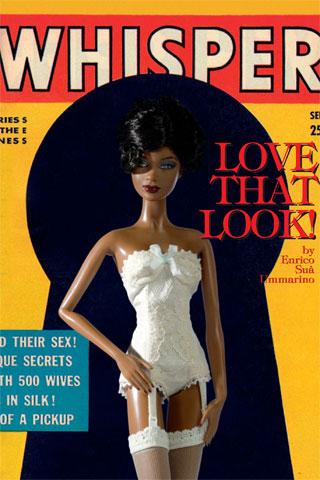 Barbie Takes Over Vogue Italia's Black Issue