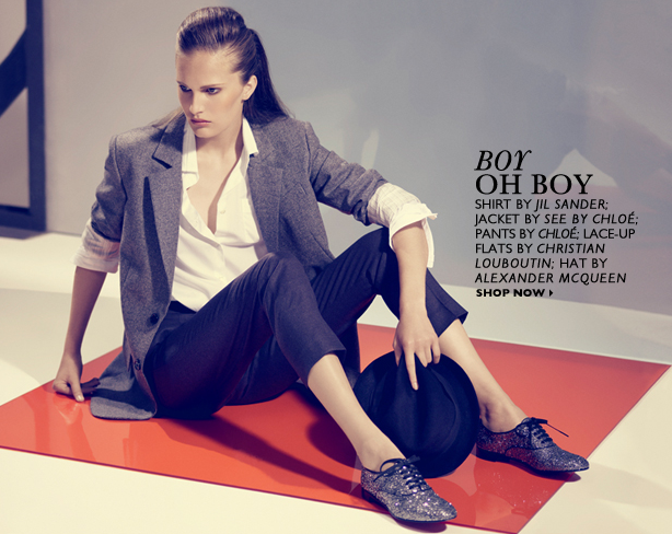 Sneak Peek! Net-a-Porter's Fall '09 Trends Editorial