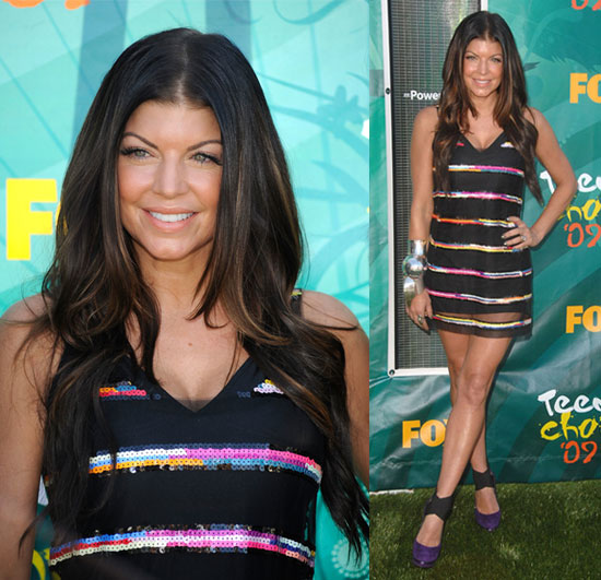 Fergie at the Teen Choice Awards