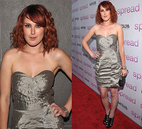 Photo of Rumer Willis at Los Angeles Spread Movie Premiere