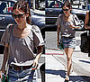Photo of Rachel Bilson Wearing Denim Shorts in Los Feliz, LA