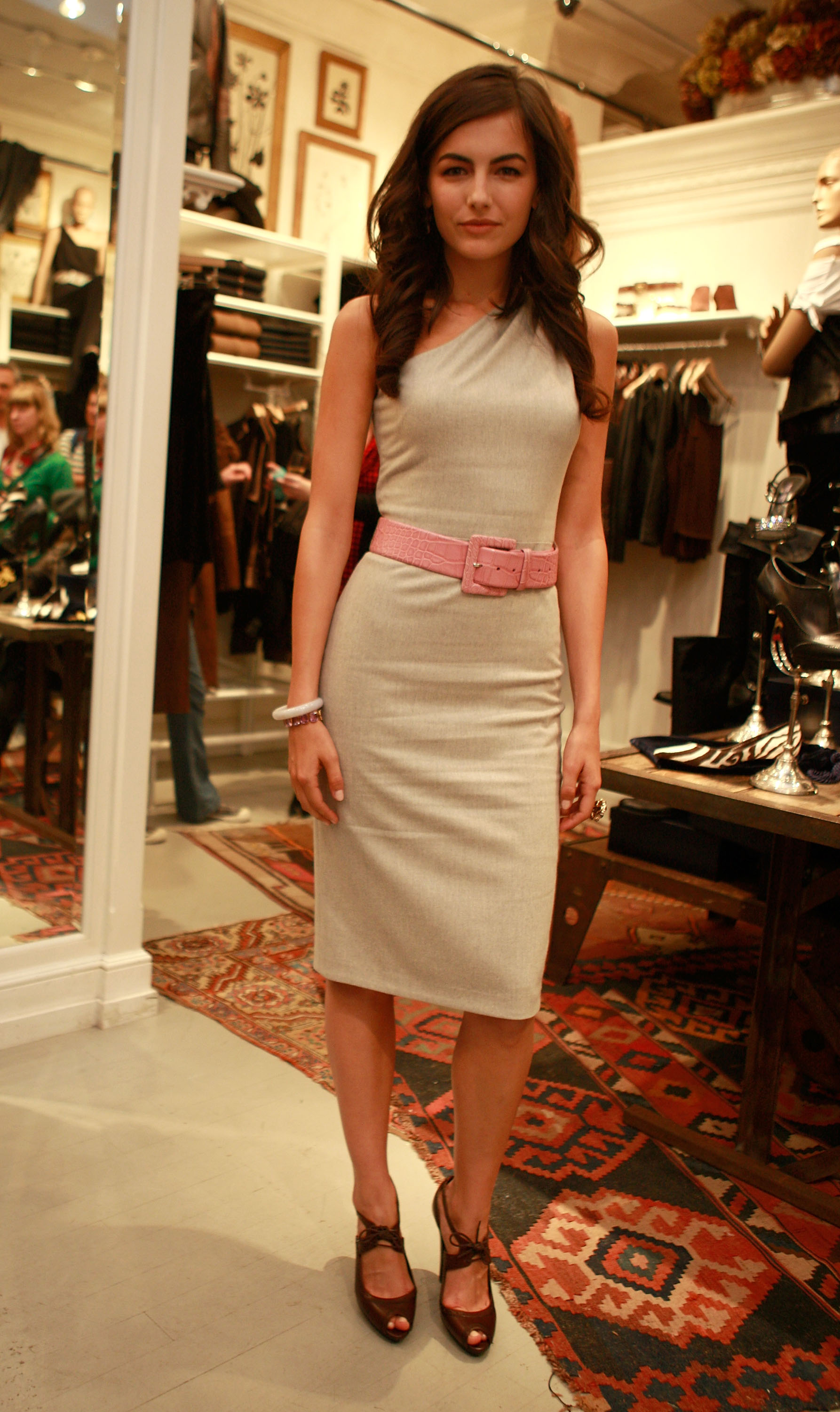 Camilla Belle at Ralph Lauren
