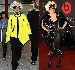 Lady Gaga in London and Berlin Wearing Marc Jacobs