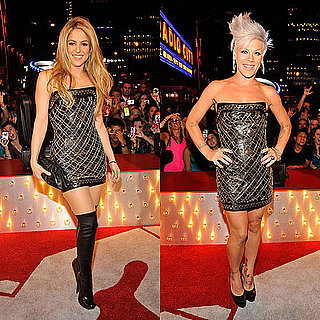 Pink and Shakira in the Same Dress at the MTV VMAs