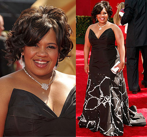 Photo of Chandra Wilson on the Emmy Awards Red Carpet 2009-09-20 19:54:08