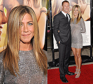 Photo of Jennifer Aniston Wearing Silver Valentino Dress at Love Happens Premiere in LA