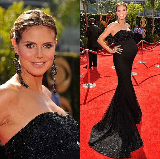Photo of Heidi Klum on the Emmy Awards Red Carpet