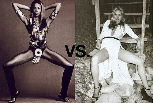 Photographer Pits Naomi Campbell Against Kate Moss