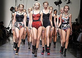 Photos From 2009 Spring Dolce & Gabbana Runway Show at Milan Fashion Week