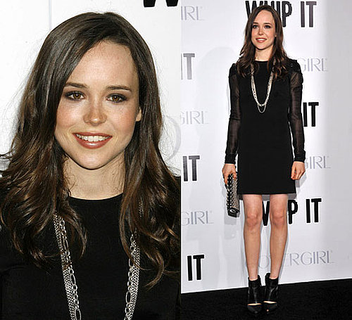 Photo of Ellen Page at Whip It Permiere in LA 2009-09-30 10:23:04