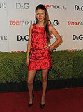 Victoria Justice Fun and Sassy in a Textured LRD