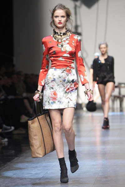 2010 Spring Milan Fashion Week: Dolce & Gabbana