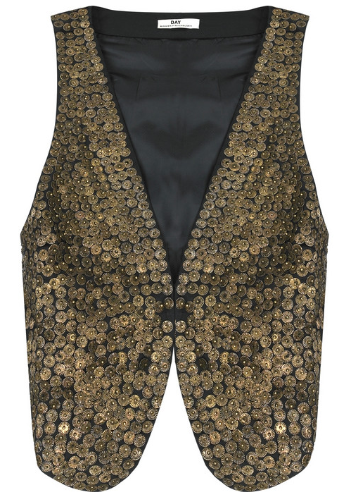 DAY Birger et Mikkelsen Patti Sequined Cotton Vest