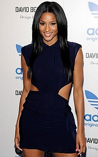 Photo of Ciara in Modern Navy Dress at Originals by Originals Adidas launch in LA