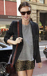Photo of Miranda Kerr in Cat Print Mini in Sydney, Australia