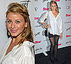 Photo of Lo Bosworth in White Shirt and Black Skirt at Star Magazine Party in LA