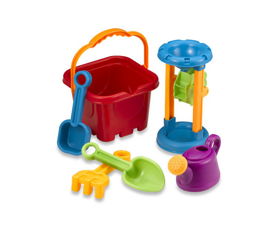 I Play Castle Bucket Set