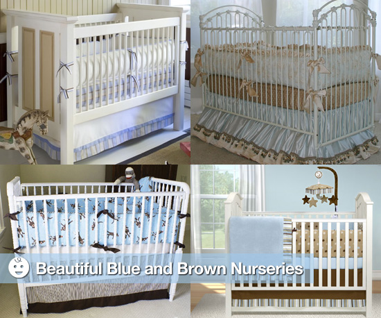Blue and Brown Nurseries