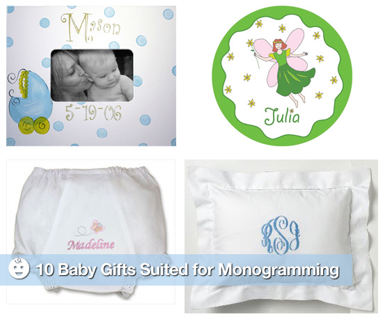 10 Items For Monogramming