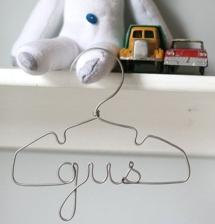Personalized Wire Hanger