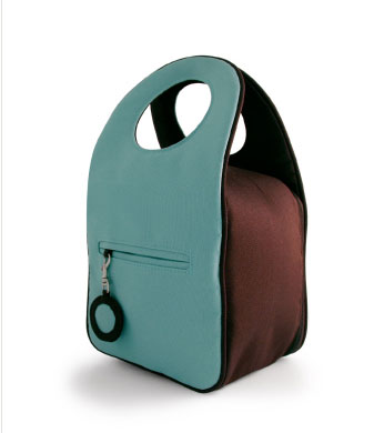 Milk Dot Lunch Bag