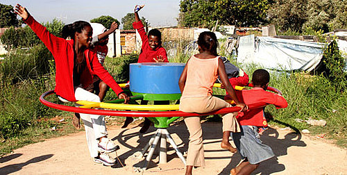 PlayPumps Improve Water Supply in Africa