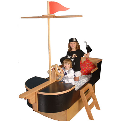 It's a Pirate's Bedroom For Lil Boys and Girls!