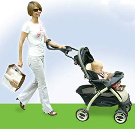 Easy Stroll One-Handed Stroller Handle