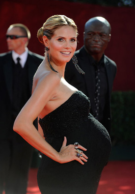 Photos of Heidi Klum at Emmy Awards